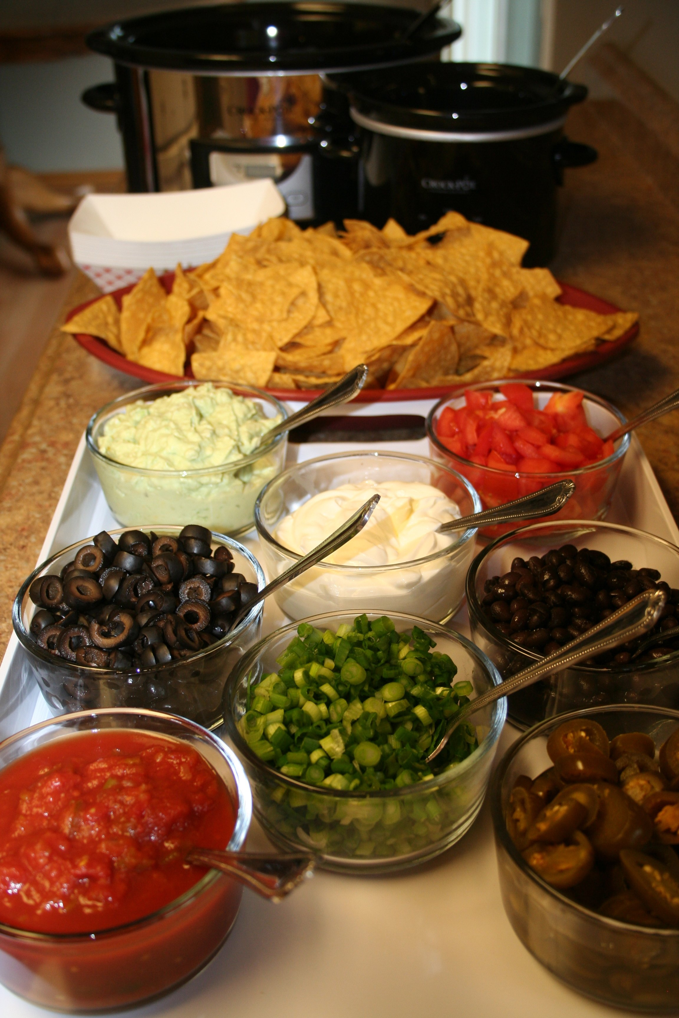 Super Bowl Nacho Bar The Magical Slow CookerThe