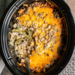 Slow Cooker Tater Tot Casserole