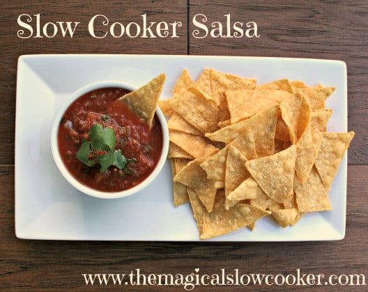 bowl of salsa and chips