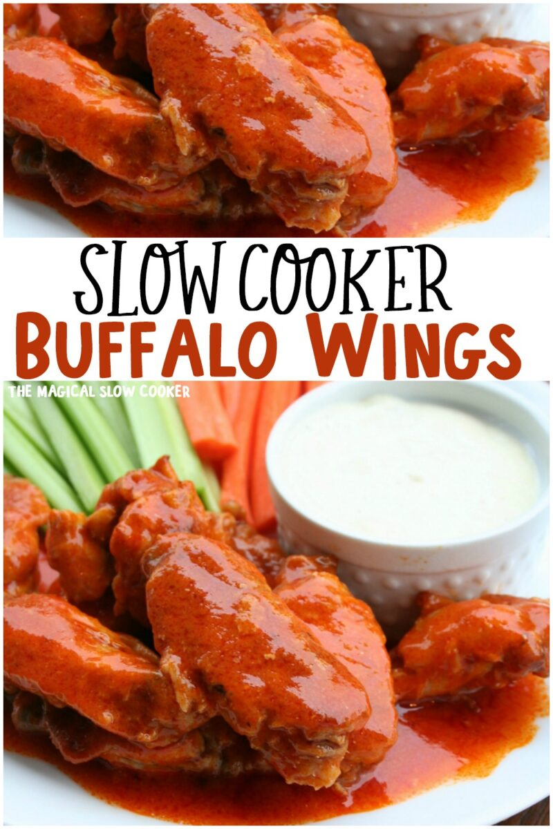 collage of buffalo wing images for pinterest
