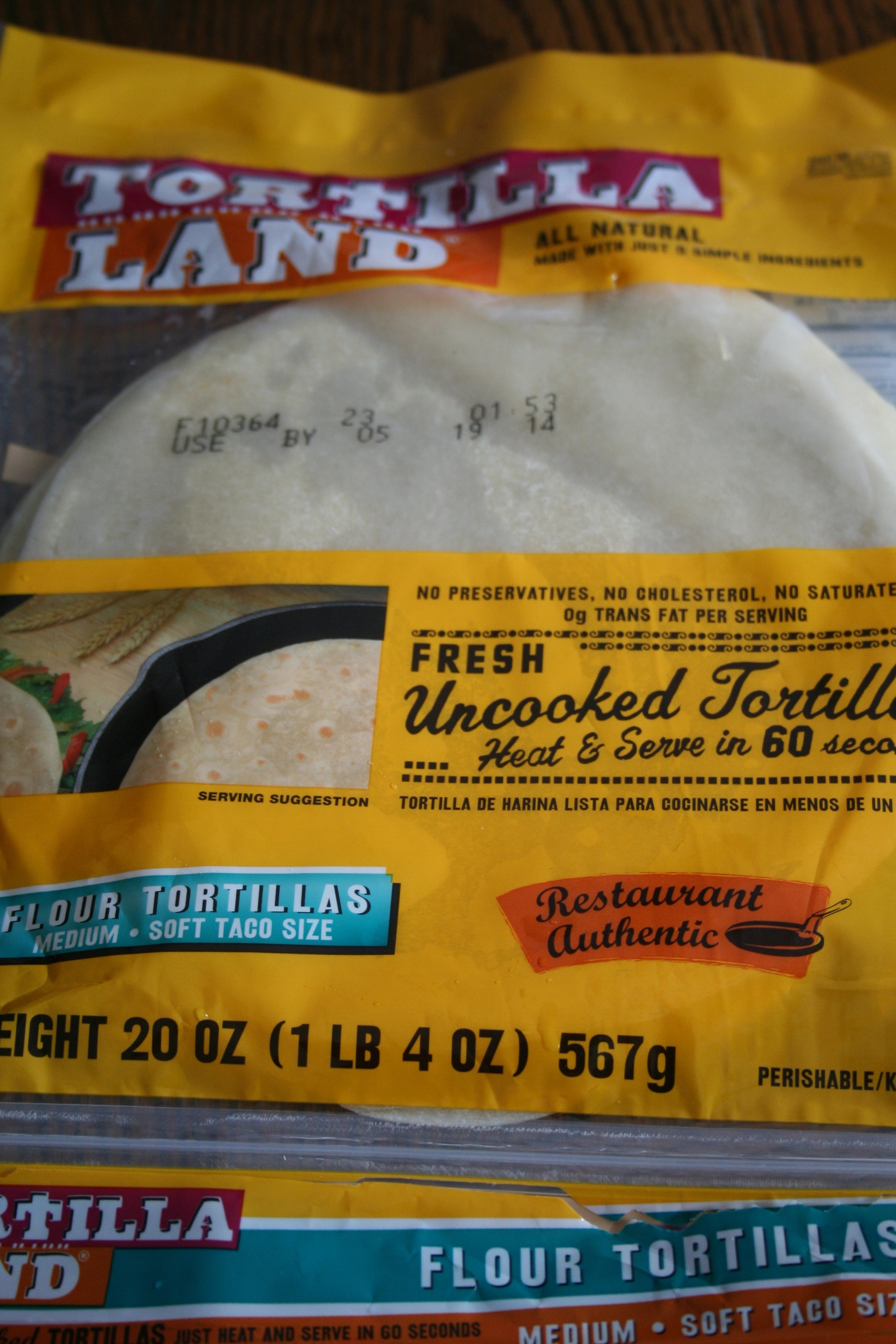 tortilla land tortillas in package