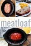 collage of meatloaf images for pinterest
