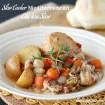 Slow Cooker Medieterranean Chicken Stew