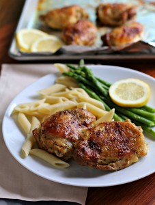 lemon pepper chicken thighs
