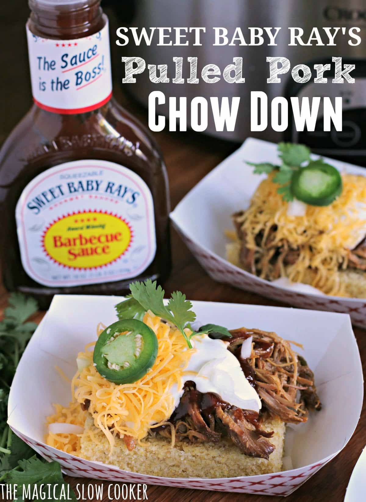 Sweet Baby Ray's Pulled Pork Chow Down