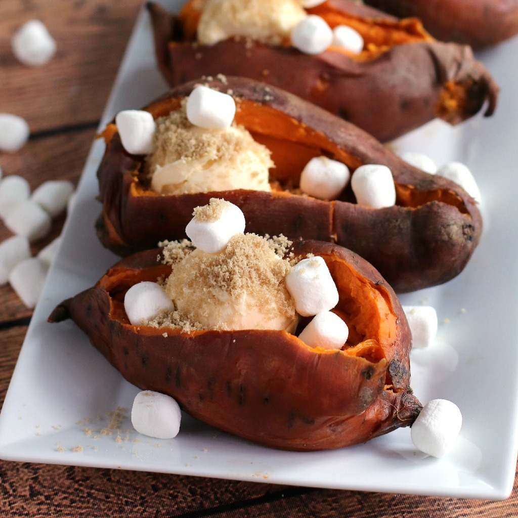 Slow Cooker Sweet Potatoes l The Magical Slow Cooker