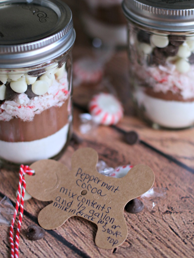 Hot Cocoa Gift Jars - The Magical Slow Cooker