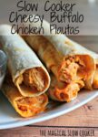 flautas on plate, text over image for pinterest