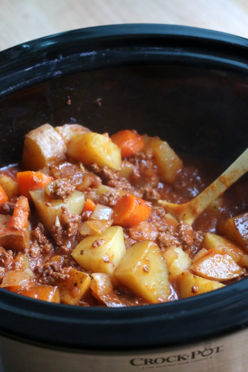 Slow Cooker Poor Man Stew | Hearty Crockpot Recipes For Fall | Homesteading Easy Recipes