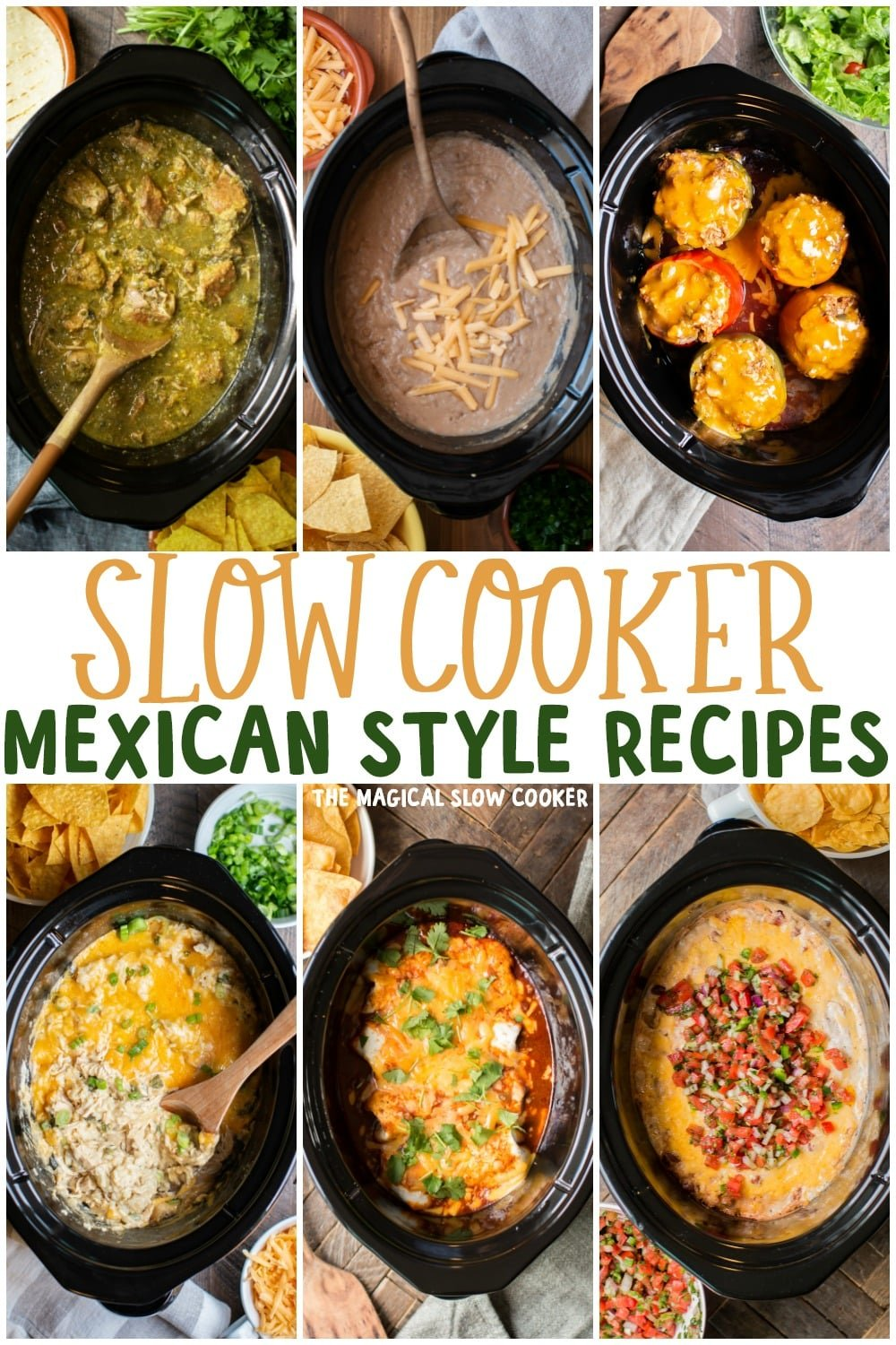 25 Mexican Style Slow Cooker Recipes The Magical Slow Cooker