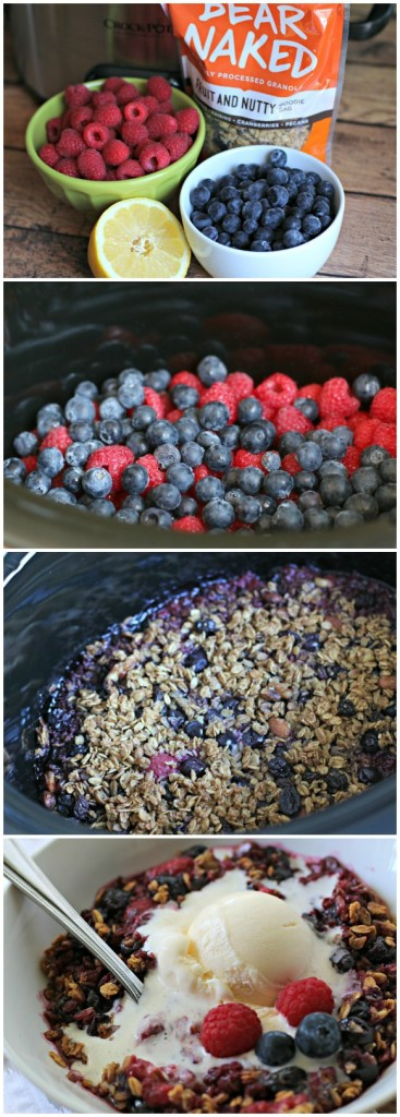 Light Berry Crisp Collage
