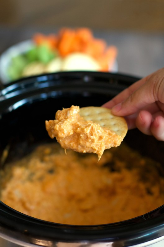 Cheesy Buffalo Chicken Dip - The Magical Slow CookerThe Magical Slow ...