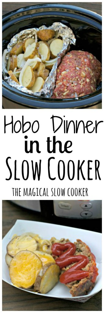 Hobo Dinner in the Slow Cooker