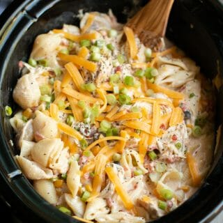 Southwestern Cheesy Chicken Pasta