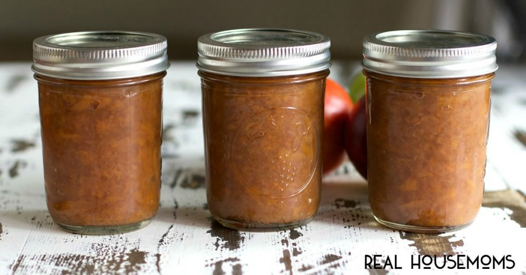Slow Cooker Nectarine Applesauce