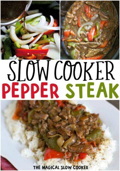Slow Cooke Pepper Steak