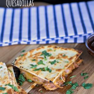 Slow Cooker Barbecue Chicken Quesadillas
