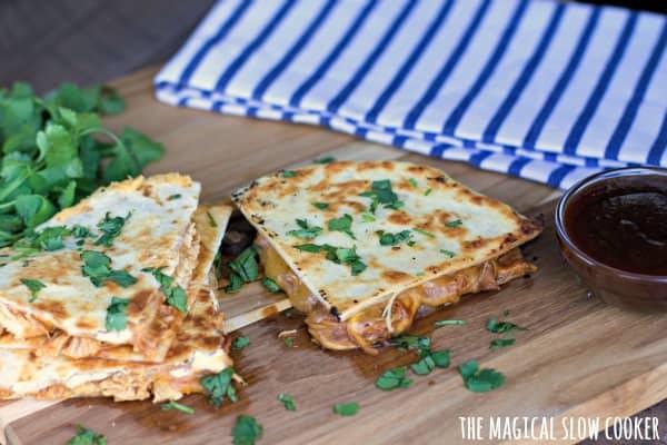 recipe for bbq chicken quesadillas