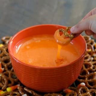 Candy Corn Fondue