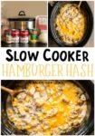 hamburger hash collage for pinterest