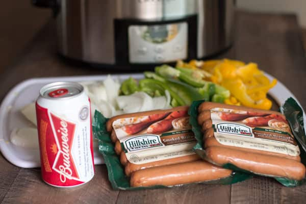 Slow Cooker Beer Brats