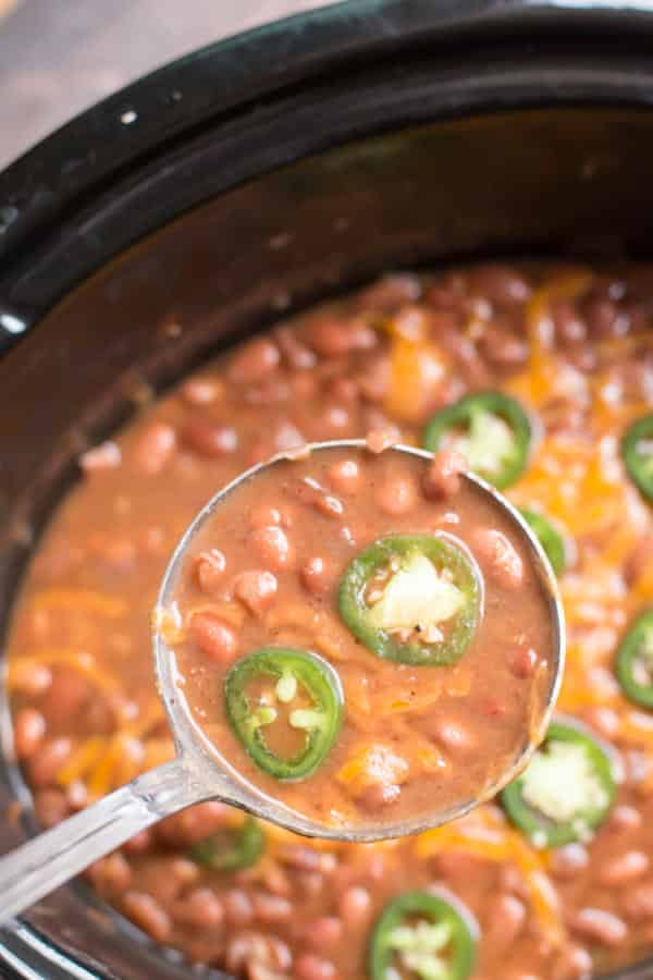 Slow Cooker Spicy Pinto Beans The Magical Slow Cooker