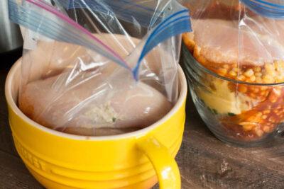 Slow Cooker Enchilada Soup {Freezer Friendly}