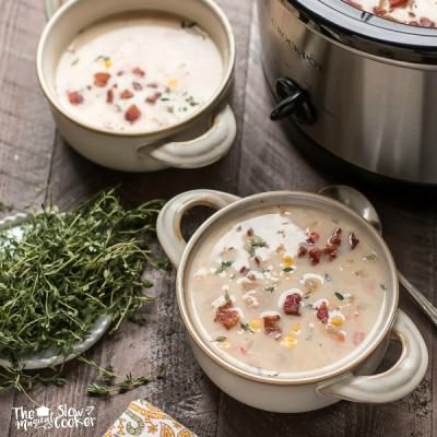 Slow Cooker Maine Corn Chowder