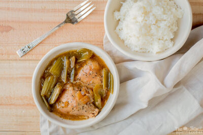 Slow Cooker Pepper Chicken {Freezer Meal Friendly}