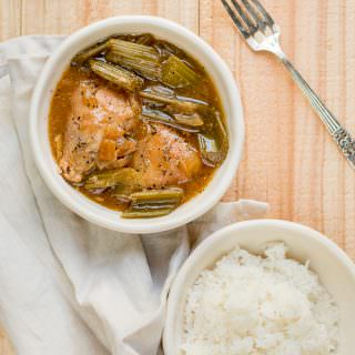 Slow Cooker Black Pepper Chicken {Freezer Meal Friendly}