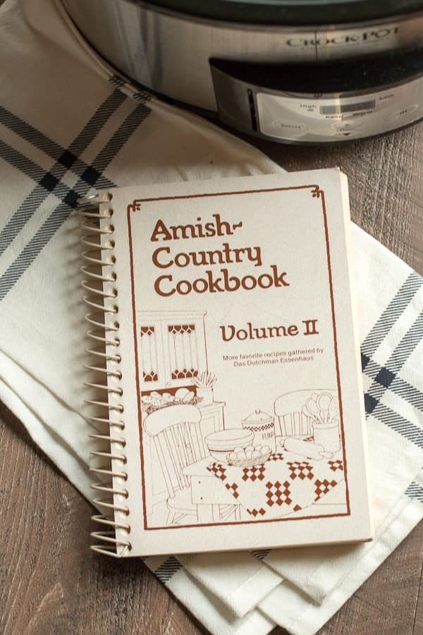 Amish Country Cookbook, Volume 2