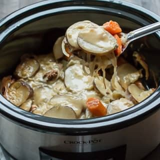 Slow Cooker Six Layer Dinner
