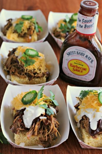 Slow Cooke Sweet Baby Ray's Pulled Pork Chow Down - The Magical Slow Cooker
