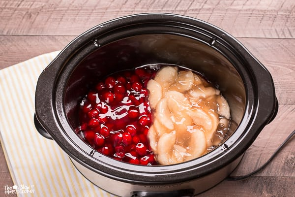 Slow Cooker His and Hers Cobbler