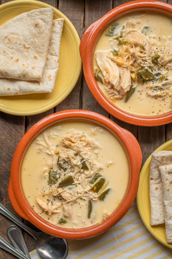 Slow Cooker Chicken Chile Relleno Soup