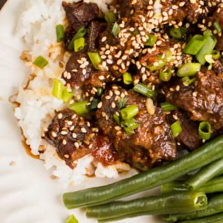 Easy Slow Cooker Teriyaki Beef