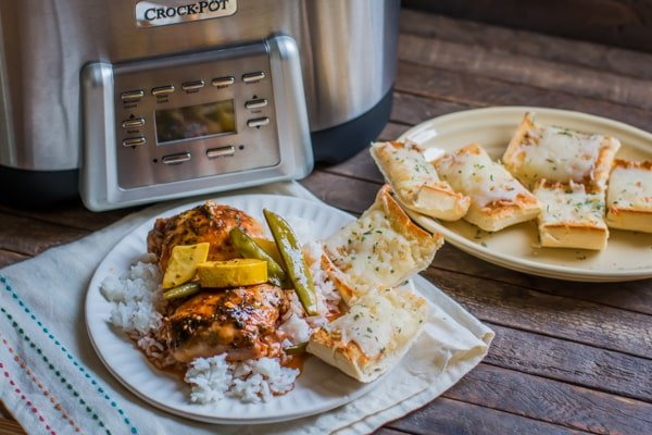 Slow Cooker Sweet and Spicy Chicken with Veggies by Sarah ...