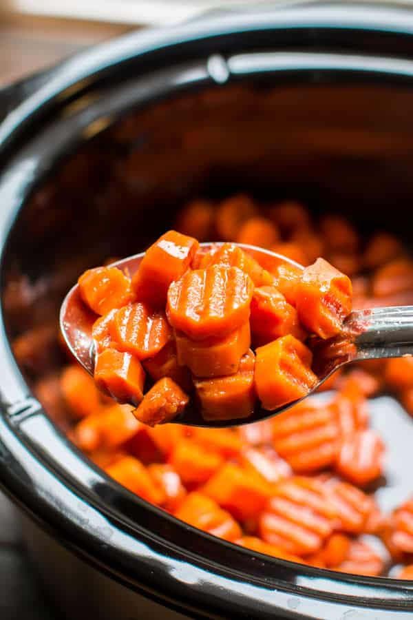 Slow Cooker Candied Carrots