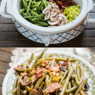 Slow Cooker Holiday Green Beans