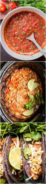 Slow Cooker Homemade Salsa Chicken