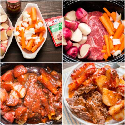 Slow Cooker Italain Beef Dinner