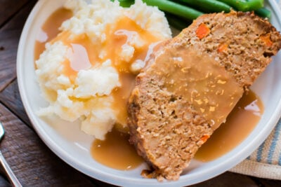 Slow Cooker Stove-Top Turkey Meatloaf
