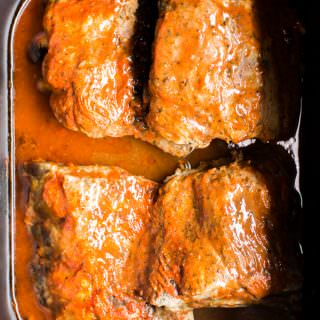 Slow Cooker Buffalo Baby Back Ribs