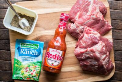 Slow Cooker Buffalo Baby Back Ribs