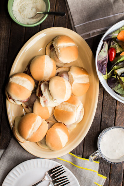 Slow Cooker Easy Meatball Sliders