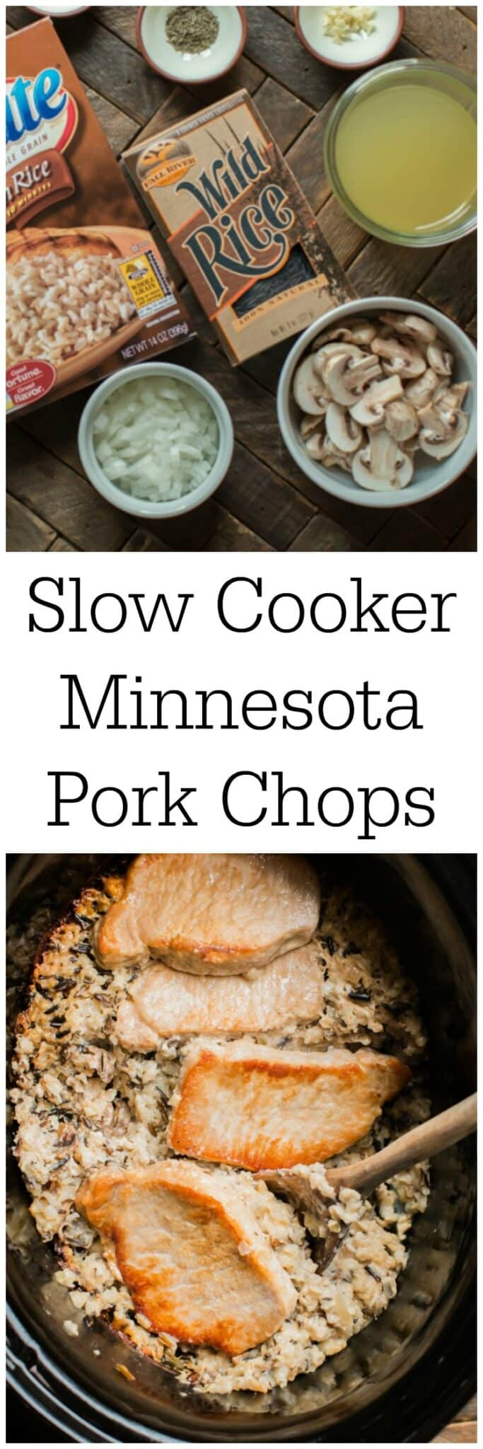Slow Cooker Minnesota Pork Chops