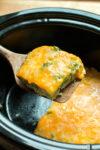 Slow Cooker Crustless Broccoli Quiche