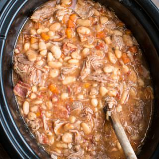 Slow Cooker Pork Cassoulet