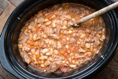 Slow Cooker Pork Cassoulet