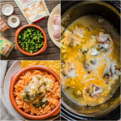 Slow Cooker Green Chile Chicken